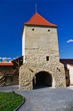 Gate Tower of Rupea Fortress Royalty Free Stock Photo