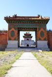 Gate Tower of ZhaoXi Tomb in the Eastern Royal Tombs of the Qing Royalty Free Stock Photos