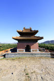 Gate Tower of ZhaoXi Tomb in the Eastern Royal Tombs of the Qing Stock Images