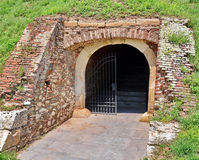 Gate tunnel Royalty Free Stock Image