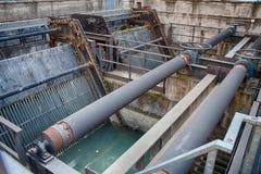Gate valve Stock Image