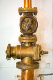Gate valve Royalty Free Stock Images