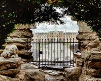 Through The Gate Royalty Free Stock Photos