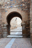 Gate in the walls of the city fortifications Royalty Free Stock Photography