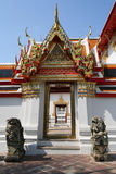Gate in Wat Pho temple Stock Images