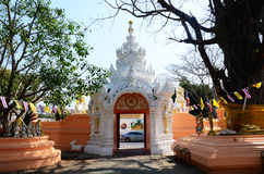 Gate of Wat Phra Sing in Chiang Rai, Thailand Royalty Free Stock Photography