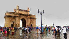 The Gate Way Of India Royalty Free Stock Photo