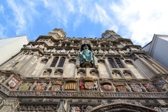 The Gate Way to Canterbury Cathedral Stock Image