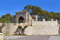 Gate of the winds, Mount Tabor, Lower Galilee, Israel Stock Images