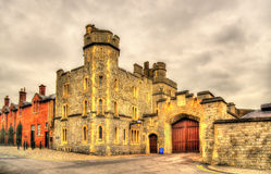 Gate of Windsor Castle - England Stock Photography