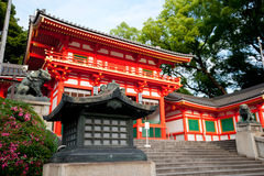 Gate of Yasaka Shrine Royalty Free Stock Image