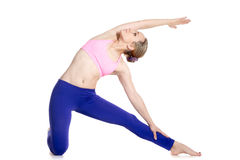 Gate Yoga Pose Royalty Free Stock Photo