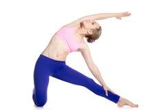 Gate Yoga Pose Royalty Free Stock Photo