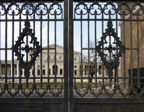 Gate of  Yusupov Palace on  Fontanka River, St. Petersburg Stock Photography