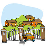 Gated Community Royalty Free Stock Image
