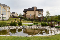 Gated development Stock Photos
