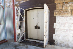 Gated Doors at Fremantle Prison Royalty Free Stock Image