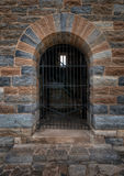 Gated Doorway Royalty Free Stock Photos