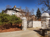 Gated estate Royalty Free Stock Images