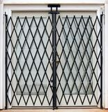 Gated French doors Stock Photos