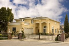 Gated home Royalty Free Stock Photography