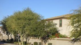 Gated Housing Community, Phoenix, AZ Stock Image