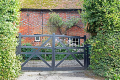 Gated kent country cottage Royalty Free Stock Images