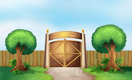 A gated park Royalty Free Stock Photography