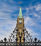 Gated Parliament Royalty Free Stock Photography