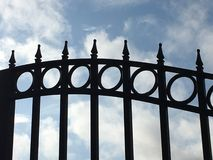 Gated Sky Royalty Free Stock Photography