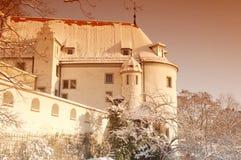 gatehouse замока altenburg стоковая фотография rf