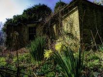 Gatehouse abandonado Imagem de Stock