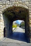 Gatehouse archway Stock Photos