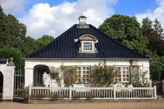 Gatehouse au château de Søllerød photo libre de droits