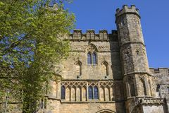 Gatehouse of Battle Abbey in Sussex royalty free stock images