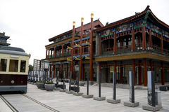 Gatehouse Beijing China  Stock Photo