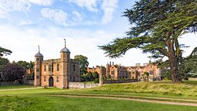 Gatehouse, Charlecote dom, Warwickshire, Anglia obrazy royalty free