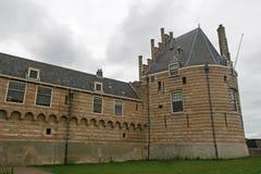 Gatehouse dans Veere photo stock