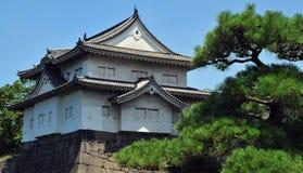 Gatehouse de château d'Osaka Image stock