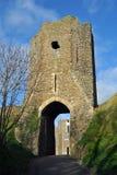 Gatehouse de château de Douvres Photographie stock