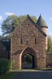Gatehouse de château de Peckforton image libre de droits