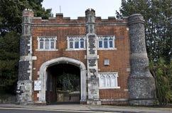 Gatehouse de château de Whitstable photo libre de droits