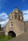 Gatehouse de Kruithuis à Delft, Hollande images libres de droits