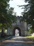 Gatehouse de la abadía de Whalley Fotografía de archivo