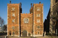 Gatehouse de la tour de Morton - Lambeth images stock