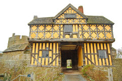Gatehouse de Stokesay Imagem de Stock Royalty Free