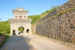 Gatehouse del templo Imagenes de archivo