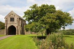 Gatehouse dell'abbazia Fotografie Stock Libere da Diritti