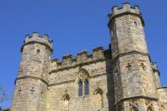 Gatehouse dell'abbazia di battaglia in Sussex fotografie stock libere da diritti