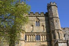 Gatehouse dell'abbazia di battaglia in Sussex immagini stock libere da diritti